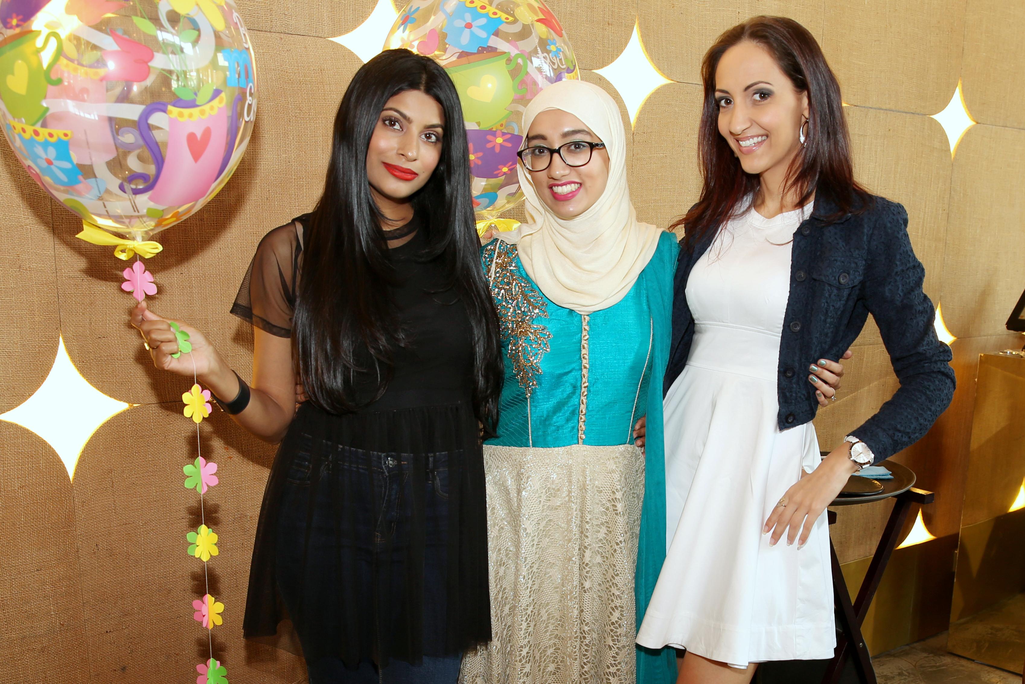 Farhana, Zeyna & Dragana at Farzi Cafe Celebrating Mother's Day 2017