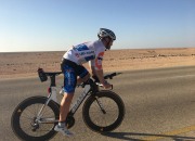 Jonathan Shubert sets a World Record by cycling 1300km in under 48 hours