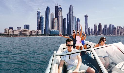 Drive a Boat in Dubai with Xclusive Yachts' New Boat Club