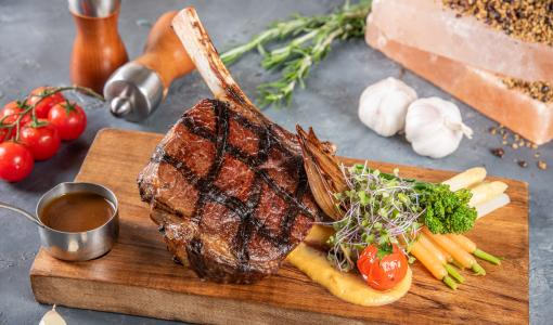 An overload of meats and prime cuts arrives every Wednesday at Mistral Restaurant