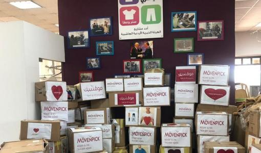 Mövenpick Hotels & Resorts Jordan partake in A Kilo of kindness campaign to help needy families in the Kingdom