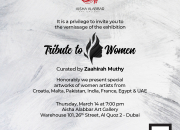 Tribute to Women vernissage and panel discussion