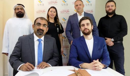Umm Al Quwain Free Trade Zone (UAQ FTZ) and Ukrainian Business Council (UBC) Forms Strategic Business Alliance