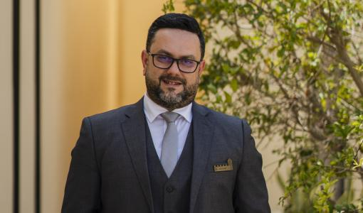 Growing Our Team at The Chedi Al Bait, Sharjah Robert Sahyouni Joins as Director of Sales & Marketing
