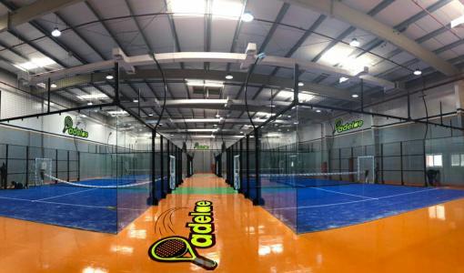 The UAE's largest indoor padel complex opens in Dubai